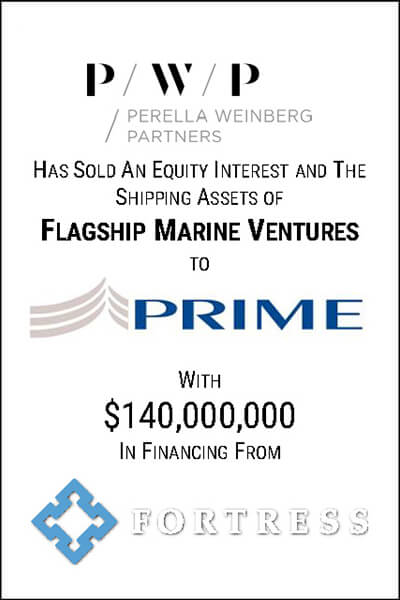 perella weinberg partners equity interest investment